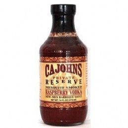 Cajohns Raspberry Vodka BBQ...